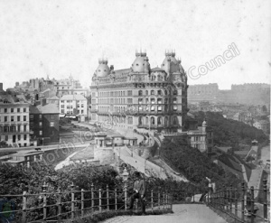 Grand Hotel and St Nicholas Cliff, Scarborough